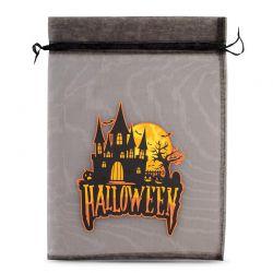 1 pc Halloween Organza Bag (No.2) 40 x 55 cm - black Decorative Organza bags