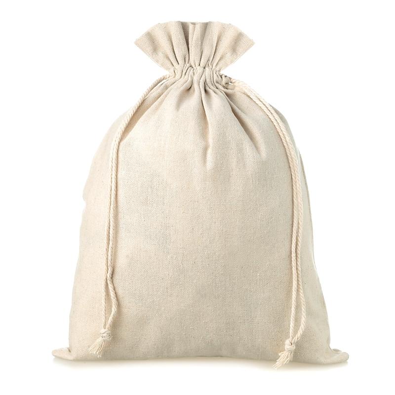 1 pc Linen bag 45 x 60 cm - natural