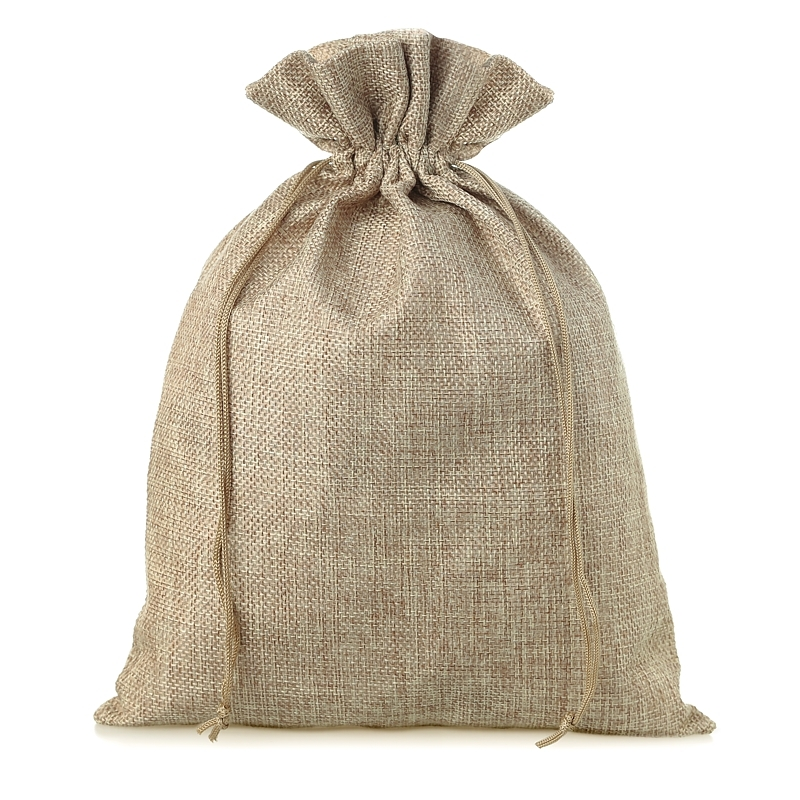 1 pc Burlap bag 45 x 60 cm - natural