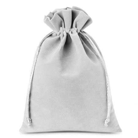 Jewellery Gift Red Velvet Pouch Bag 12 cm x 10 cm Coin Drawstring 2 PCS