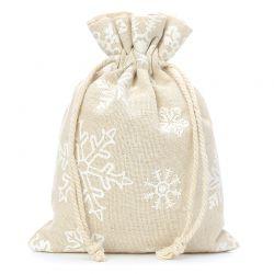 5 pcs Linen bag with...