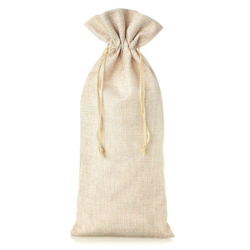 1 pc Burlap bag 16 x 37 cm - light natural