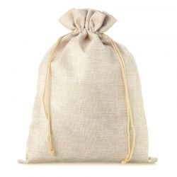 1 pc Burlap bag 26 x 35 cm...