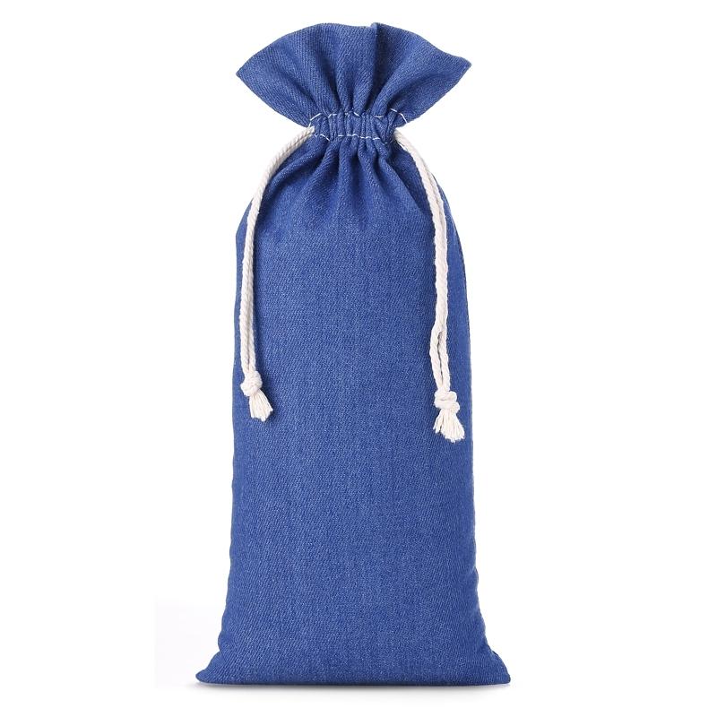 1 pc Jeans bag 16 x 37 cm - blue