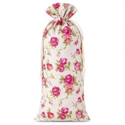 1 pc Linen bag with...