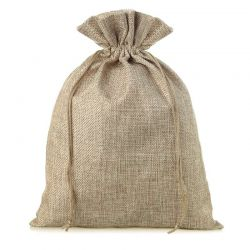 1 pc Burlap bag 26 cm x 35...