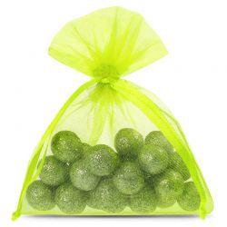 25 pcs Organza bags 8 x 10...
