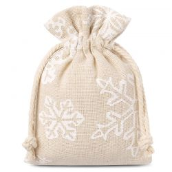 10 pcs Linen bags with...