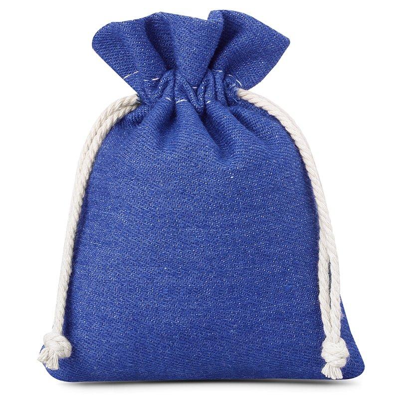 3 pcs Jeans bags 12 x 15 cm - blue