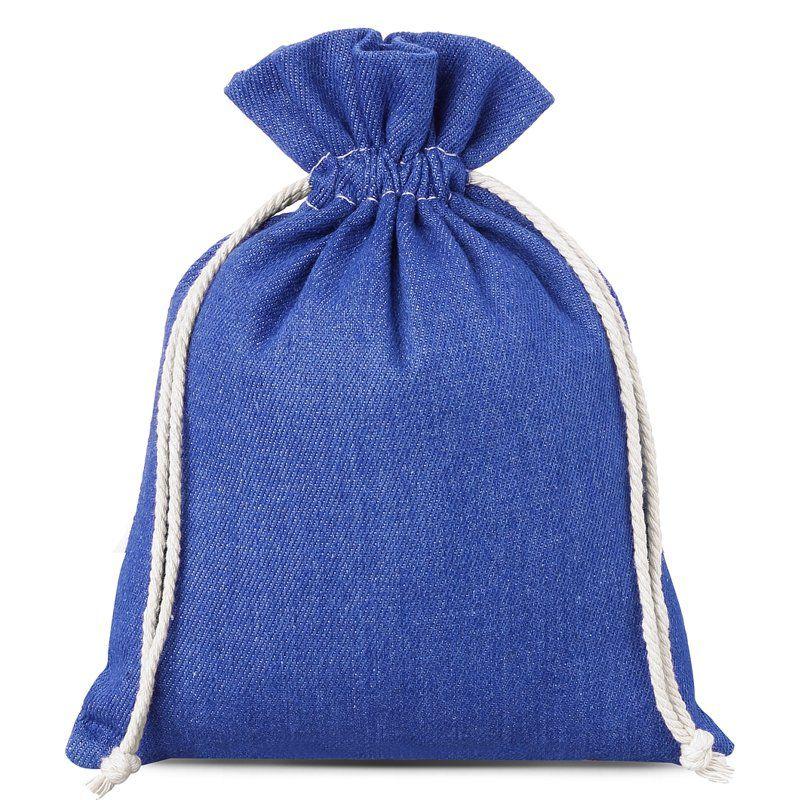 1 pc Jeans bag 15 x 20 cm - blue