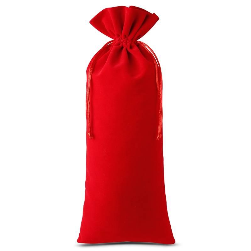 1 pc Velvet pouch 16 x 37 cm - red