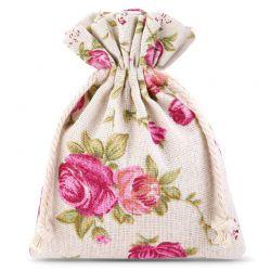 10 pcs Linen bag with...