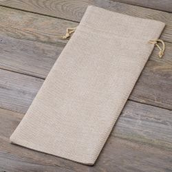 1 pc Burlap bag 16 x 37 cm...