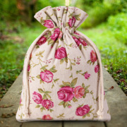 Bags with decorative prints