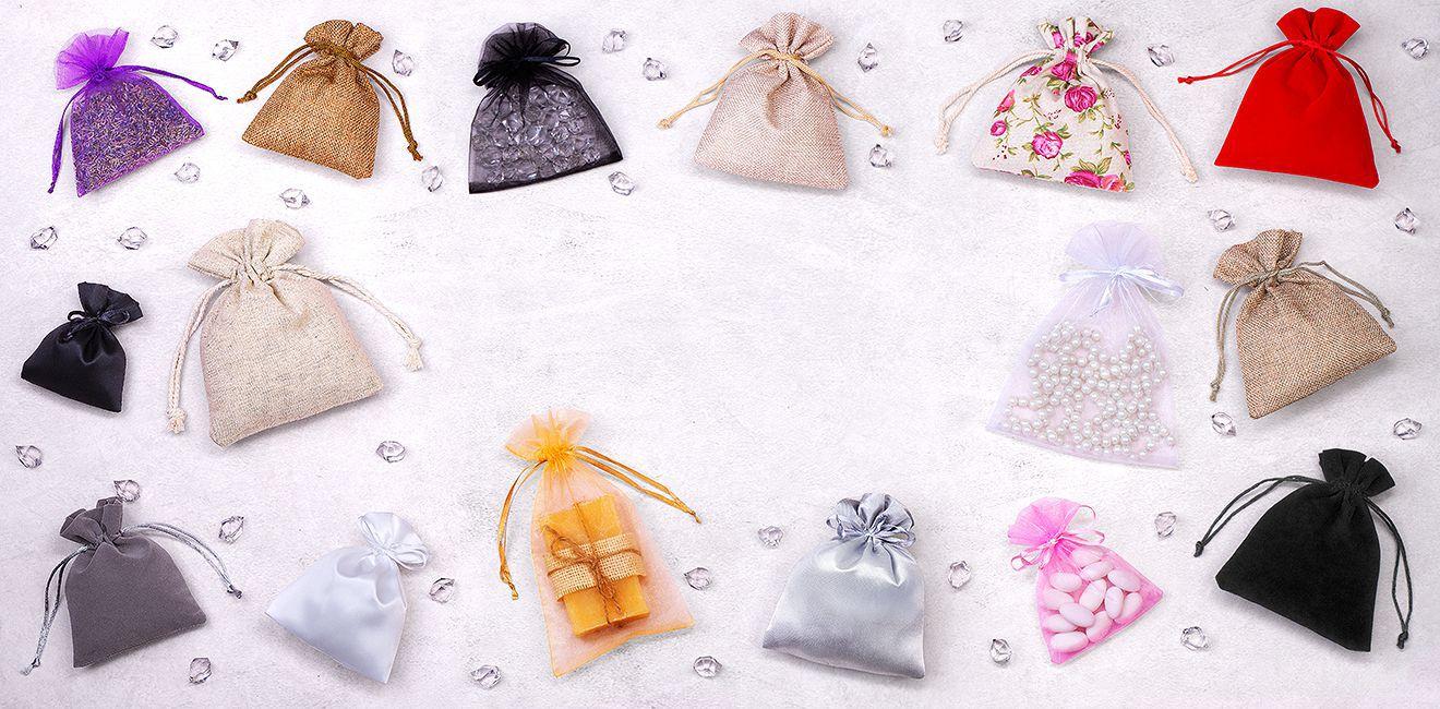 Material bags in 870 designs