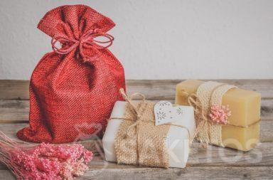 handmade soap packaging