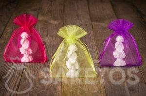 Small organza pouches