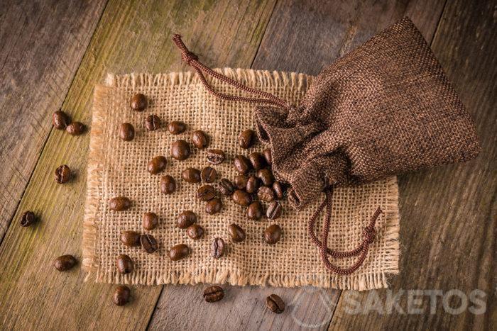 Jute bag for coffee!