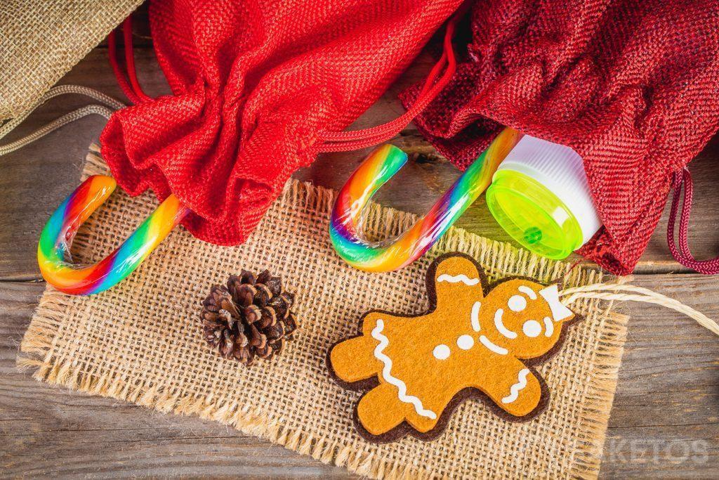 Christmas gift packaging for children