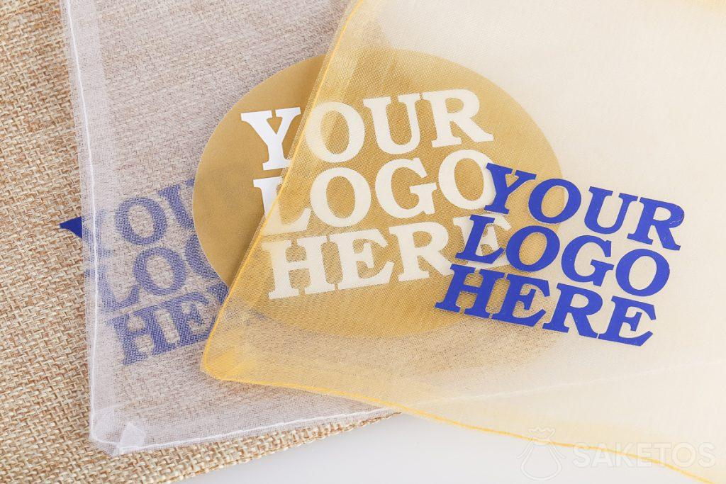 Bags for gadgets with the logo of your choice