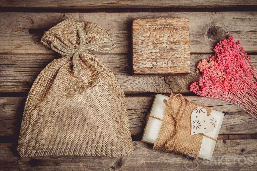 Packaging for handmade soap