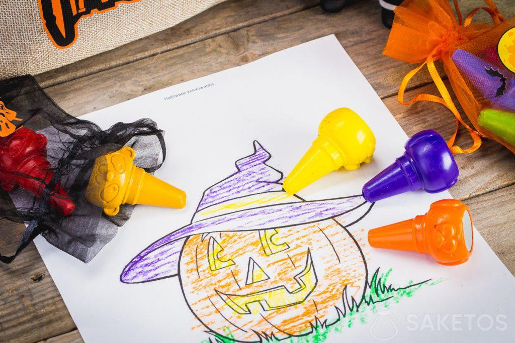 Decorative Halloween bags are also suitable for storing small items