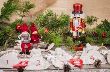 The bags can be used to create an original Advent calendar