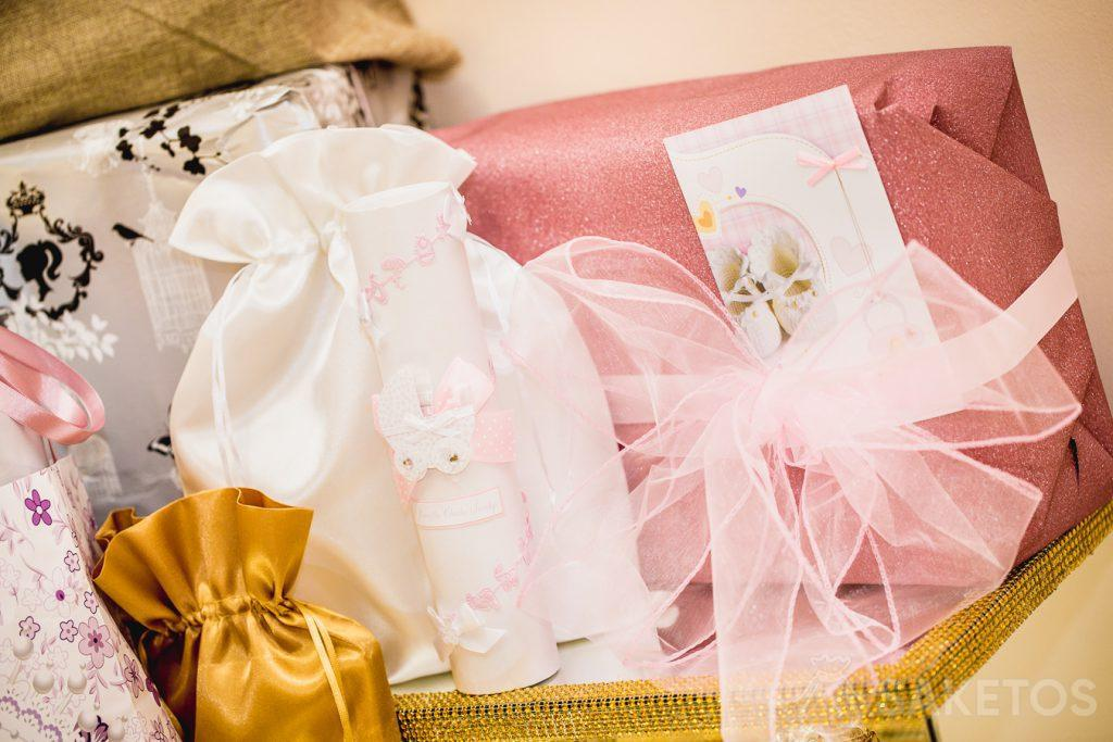 Bags are perfect for gift wrapping, e.g. for a baptism