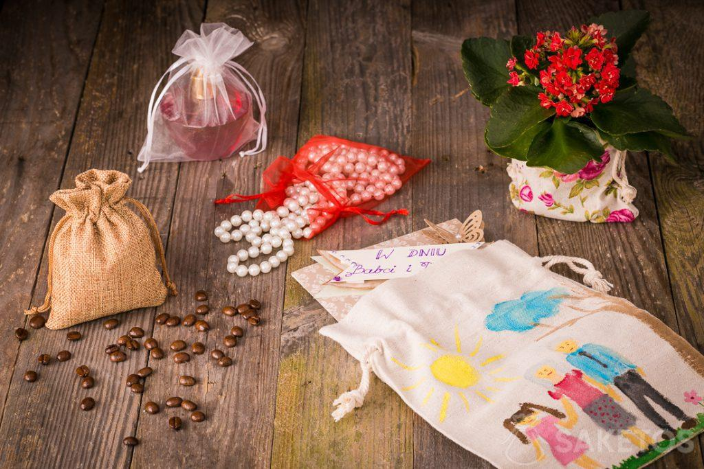 Gift bags for Grandma's Day and Grandpa's Day