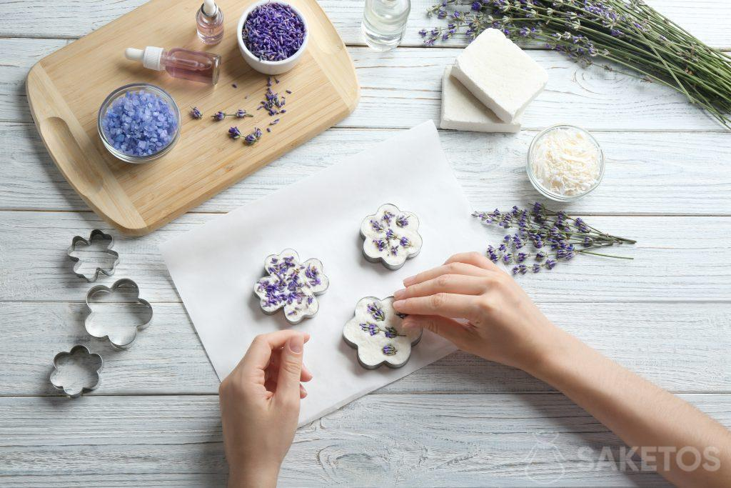 Decorating household soap