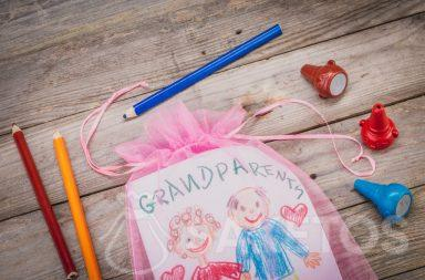 Laurel for grandparents packed in a bag