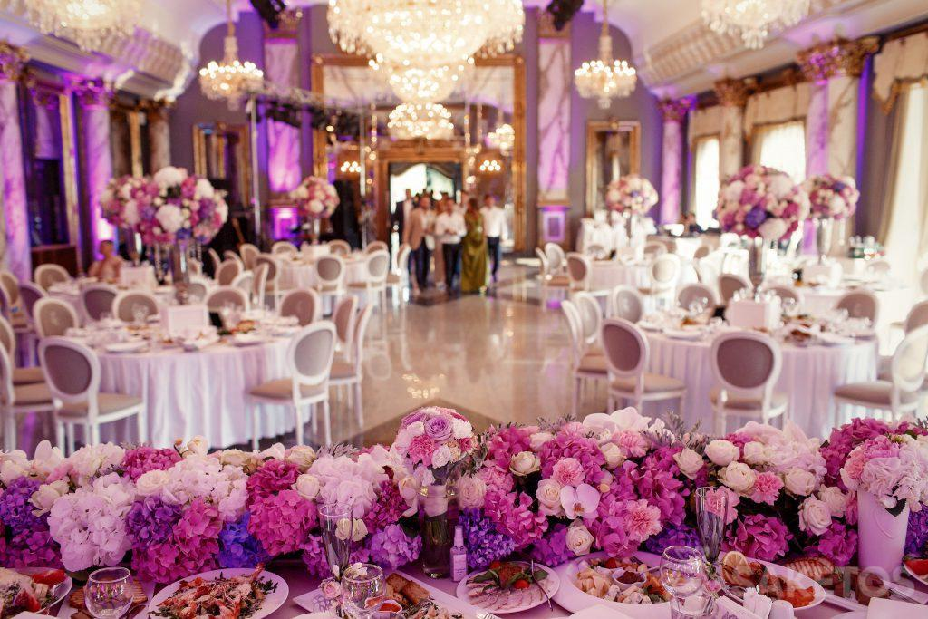 The colour scheme of the wedding - how to decorate the wedding venue?