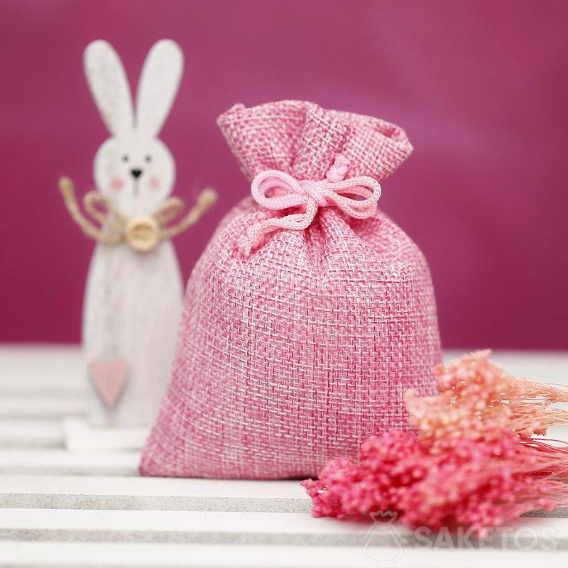 Material bags for creating decorations for Easter