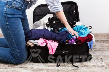 Organizers for your travel bag will help you avoid such a sight!