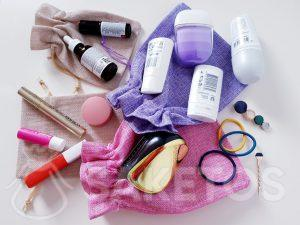 Bags to carry cosmetics