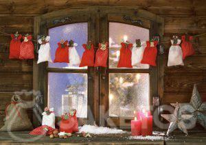 An advent Calendar from fabric bags
