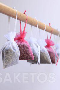 Do you dream of a fresh scent in your wardrobe or dressing room? Use the fragrance pouches!